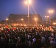 Night time in Tahrir