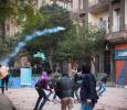 Gas Bombs in Tahrir